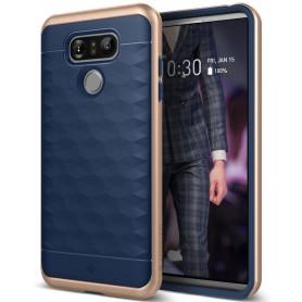 LG G6 Caseology® Parallax Series Shock Proof TPU Grip Case - Navy Blue