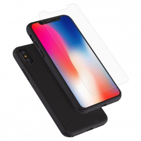 Hard Case 360º Ptotection iPhone X Zwart