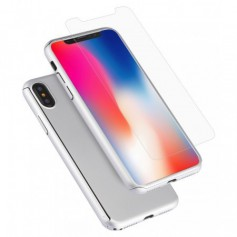 Hard Case 360º Ptotection iPhone X Zilver