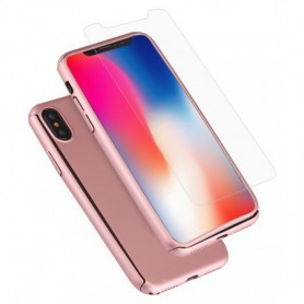 Hard Case 360º Ptotection iPhone X Roze