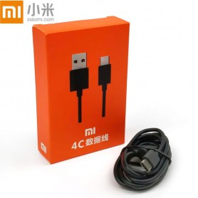 XIAOMI 3.1 Type C Kabel - Quick charger - USB Kabel - Gecertificeerd Type C 1 Meter USB kabel - Zwart