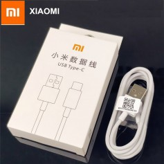 XIAOMI 3.1 Type C Kabel - Quick charger - USB Kabel - Gecertificeerd Type C 1 Meter USB kabel - Wit