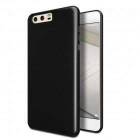 P10 TPU Ultra Dun siliconen Premium Soft-Gel Hoesje - Zwart