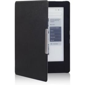 DrPhone - Kobo Aura H2O (Eerste Editie) - Hard PU Lederen Cover / Cover / Case / Hoes) Magnetische Sluiting Slaap/Wakker Cover