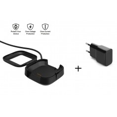 USB Oplaadkabel Dock Adapter Fitbit Versa - Docking Lader + OLESIT Stekker 5V 2A Adapter 10W