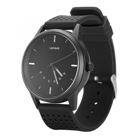 Lenovo Watch 9 - Quartz Smartwatch – 5ATM Water Resistant – Bluetooth 5.0 – Saffierglas - Zwart