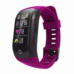 DrPhone Xtreme V10+ GPS Band - IOS / Android Activity Tracker - Fitness Monitor - Sporthorloge - Ingebouwde GPS - 100% - Paars