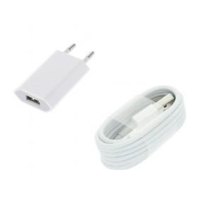 1 Pack Gecertificeerde OLESIT® UNS-1536 USB Lader Stekker 30% sneller laden - Oplader+Kabel Apple iPhone X /XS/XR/Max