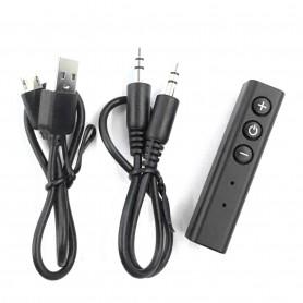 DrPhone BC1 PRO – FM Transmitter – Draadloze Bluetooth-ontvanger – Mini Audio Transmitter – Aux 3.5mm Jack – Handsfree