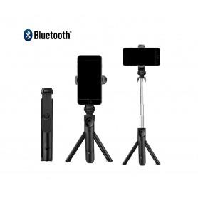 DrPhone Z1 Bluetooth draadloze Inklapbare Action Tripod Selfie Stick - Tripod Statief houder  - Opvouwbaar + Afstandbediening