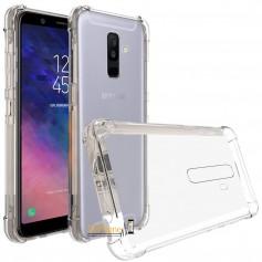 DrPhone A6 2018 2018 TPU Hoesje - Siliconen Shock Bumper Case -Backcover met Verstevigde randen voor extra bescherming