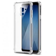 DrPhone A8+ (Plus) 2018 2018 TPU Hoesje - Siliconen Shock Bumper Case -Backcover met Verstevigde randen voor extra