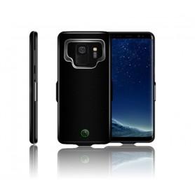 DrPhone Samsung Galaxy S9 Externe Batterij - 7.000 mAh Slimfit batterijhoes - Powerbank Charger Case - Batterijlader –
