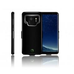 DrPhone Samsung Galaxy S9 Externe Batterij - 7.000 mAh Slimfit batterijhoes - Powerbank Charger Case - Batterijlader