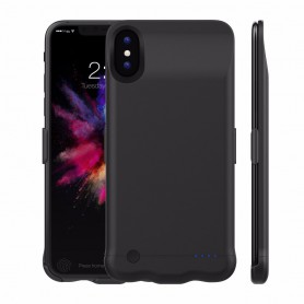 DrPhone iPhone X/Xs Externe Batterij 5200 mAh - Ultra Slim Powerbank - Draagbare Batterijhoes Fast Charge Chip