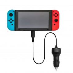 DrPhone - Nintendo Switch - Type-C Oplader Autolader Snellader - Overbelasting Beveiliging - Veilig en Snel laden -