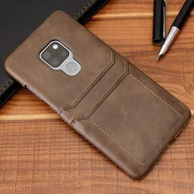 DrPhone Huawei Mate 20 Luxe Kaarthouder Case - Premium PU lederen Backcover - Portemonnee Hard Cover –