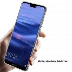 DrPhone P20 Lite TPU Hoesje - Transparant Ultra Dun Premium Soft-Gel Case – Transparant