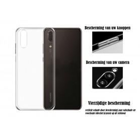 DrPhone P20 TPU Hoesje - Transparant Ultra Dun Premium Soft-Gel Case – Transparant