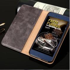 DrPhone Xperia XZ2 Flip Cover - Kaart Case met briefvak [Stand functie] PU Lederen Portemonnee Case - Vintage Book Style