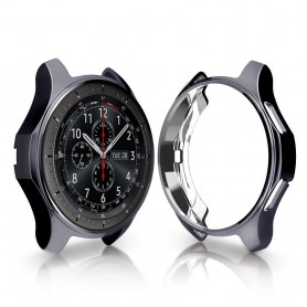 DrPhone Samsung Galaxy Watch S3 / 46mm Plating TPU Case - Ultra dunne krasbestendig Cover- All-round Bumper Shell