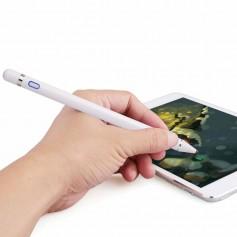 DrPhone Ultima Actieve Stylus Pen - 1.45mm Koperen Punt - Slaapmodus - 10 uur - Magneet - Geschikt voor IOS / Android en Windows