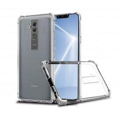 DrPhone Mate 20 PRO TPU Hoesje - Siliconen Shock Bumper Case -Backcover met Verstevigde randen voor extra bescherming