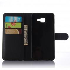 DrPhone Galaxy A5 2017 Flipcover - Bookcase - Luxe booktype PU Lederen Portemonnee Case – Wallet Case met Kickstand –