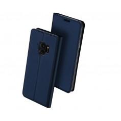 DrPhone Samsung Galaxy Note 9 Bookcase - Ultra Dun Luxe Magnetische Flip Case met kickstand - tpu lederen wallet case