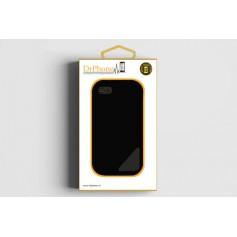 DrPhone Sony XZ1 Compact Glas 4D Volledige Glazen Dekking Full coverage Curved Edge Frame Tempered glass Zwart omranding