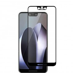 DrPhone Google Pixel XL Glas 4D Volledige Glazen Dekking Full coverage Curved Edge Frame Tempered glass Zwart - Official