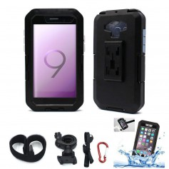 DrPhone Samsung S8+ (Plus)/S9+ (Plus) Premium Extreem Stevige Motorhouder / Fietshouder Case Met Draaiende 360 Graden