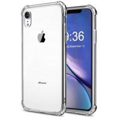 DrPhone iPhone XR ( 6.1 Inch) TPU Hoesje - Siliconen Shock Bumper Case -Backcover met Verstevigde randen voor extra