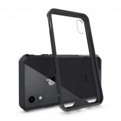 DrPhone iPhone XS MAX (6,5 inch) Air Hybride TPU Case - Tough PC Back TPU Armor Bumper [Valbescherming /