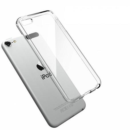 DrPhone iPod Touch 5/6 TPU Hoesje - Transparant Ultra Dun Premium Soft-Gel Case – Transparant