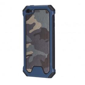DrPhone iPod Touch 6 / Touch 5 Hoesje Soft TPU 2 in 1 Schokbestendige Beschermende Hoes - Anti-Slip + Krasbestendig
