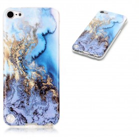 DrPhone iPod touch 5/6 TPU Hoesje- Marmeren Steen Patroon Case - Slim Fit ultra dunne zachte flexibele TPU Cover