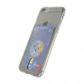 DrPhone - iPhone 7 hoesje - TPU Ultra Kaart Dun Slim Case Transparant