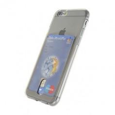 DrPhone- iPhone 7 hoesje - TPU Ultra Kaart Dun Slim Case Transparant