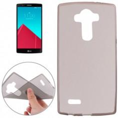 LG G3 TPU Case Ultra Dun Gel Hardplastic Hoesje Transparant Zwart