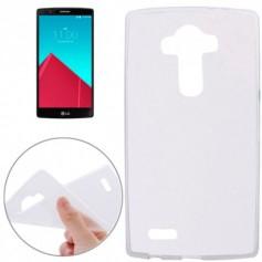 LG G4 TPU Case Ultra Dun Gel Hardplastic Hoesje Transparant