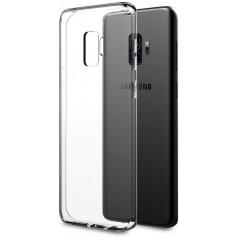 Premium DrPhone TPU Silicone Hoesje Gel Transparant - Ultra Dun Doorzichtig Soft Case | voor Samsung Galaxy S9 Plus