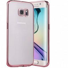 Samsung S7 Hoesje - TPU - Ultradun Hoesje - Rosegold + Autolader