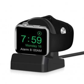 DrPhone D1 Pro - Oplaadstation Apple Watch – Draadloos Dock Apple Smartwatch – Geschikt voor 44mm / 42mm / 40mm / 38mm – Zwart