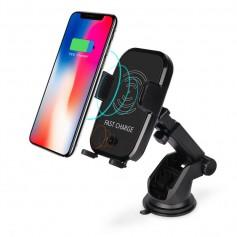 DrPhone - X10 Architect Ultimate Carkit - Luxe Autohouder Set - Automatische Infrarood Sluitmechanisme + Ventilatie