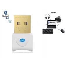 DrPhone B2 - Bluetooth 4.0 USB Adapter Dongle - Tot 15 Meter bereik - Geschikt voor o.a. Muis / Toetsenbord / Koptelefoon