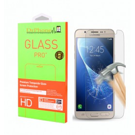 DrPhone J5 2016 Glas - Glazen Screen protector - Tempered Glass 2.5D 9H (0.26mm)