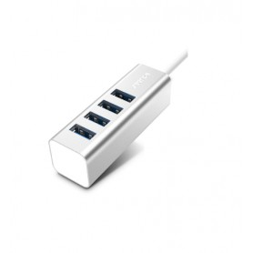 DrPhone  Seenda Aluminium USB HUB 2.0 Externe 4 Poort Draagbare OTG HUB USB Splitter Voor Macbook Laptop PC Tablet