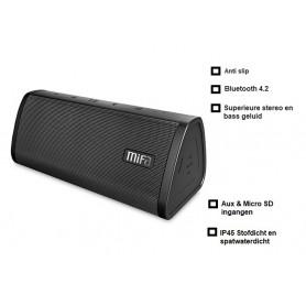 DrPhone Bluetooth TWS uidspreker- Draadloos - V4.2 - 10W HD-Stereo en Bass - Micro SD-kaart - Zwart