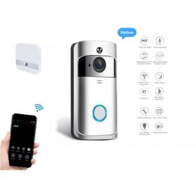 DrPhone WiCall - WIFI / 4G Deurbel IP Video Intercom - Deurbel Camera met IR Alarm Draadloze Beveiliging Camera + app